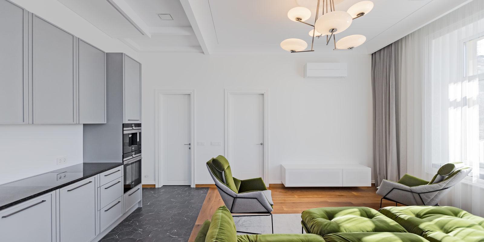Prabangus 3 kambarių butas