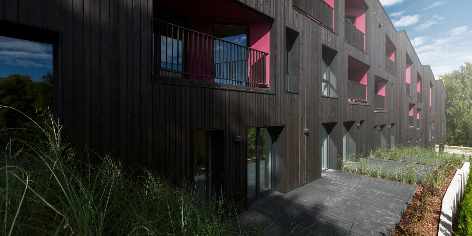 Išskirtinės architektūros daugiabutis